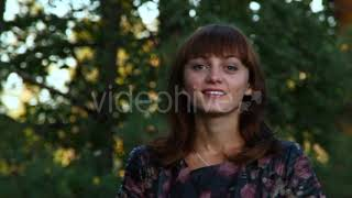 Woman Hair Dryer and Smiling - (lifestyle) Stock Footage | Mega Pack +40 items