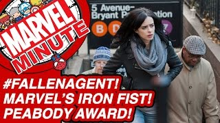 #FallenAgent! Marvel's Iron Fist! Peabody Award! - Marvel Minute 2016