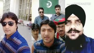 زیشان خان نے انڈیا او افغانستان  کو زبردس جواب دیے۔دیا۔ویڈیوں شیر کرے