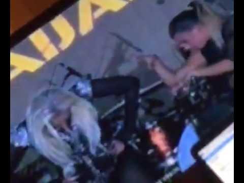 lady Gaga in shaki (Azerbaijan)