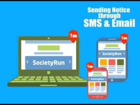 SocietyRun - A SMART Housing Society Management Software