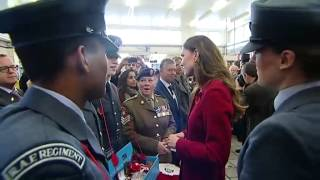 Surprise walkabout by William and Kate boosts poppy appeal