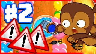 ERROR! CONNECTION HAS BEEN LOST RAGE! - Bloons TD Battles Funny Moments - NEW BTD Battles Part 2