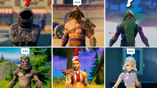 Fortnite ALL 40 New Bosses & Mythic Weapons Locations in Fortnite Season 5!
