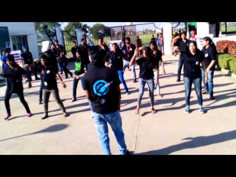 Flash Mob at College Campus, Malwa Institute of Technology, Indore