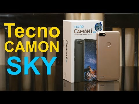 Tecno Camon i SKY unboxing, first impression, features and price Rs. 7,499