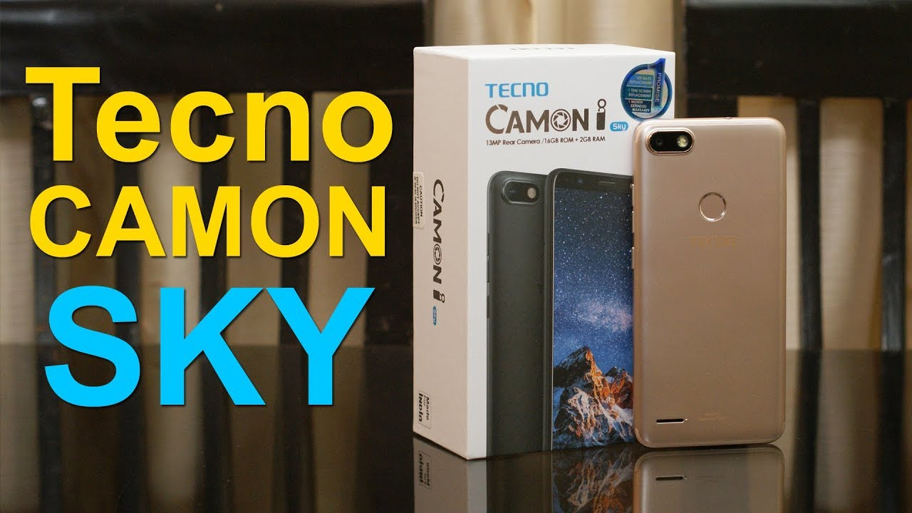 on sale 7e84c 95daa Tecno Camon i SKY unboxing, first impression, features and price Rs. 7,499