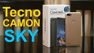 Tecno Camon i SKY unboxing first impression features and price Rs 7499