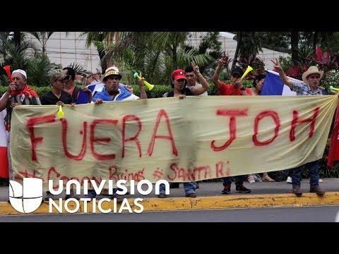 Alianza de Oposición convoca a paro en Honduras contra toma de posesión de Juan Orlando Hernández