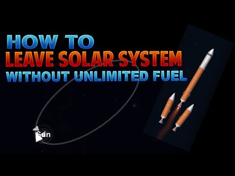HOW TO LEAVE FROM SOLAR SYSTEM (NO SANDBOX MODE) - Space Flight Simulator
