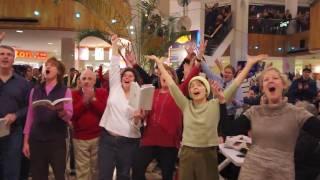 Flash Mob Holyoke Mall 12-17-10 Commonwealth Opera