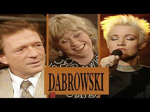 DABROWSKI med Marie Fredriksson, Totta Näslund, Lasse Hallström m fl från 1990