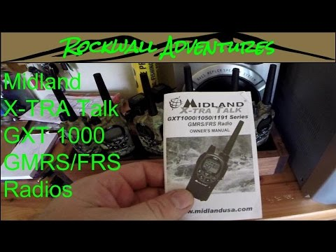 Best Mountain Hunting Radios - Midland GXT 1000 X-Tra Talk GMRS/FRS