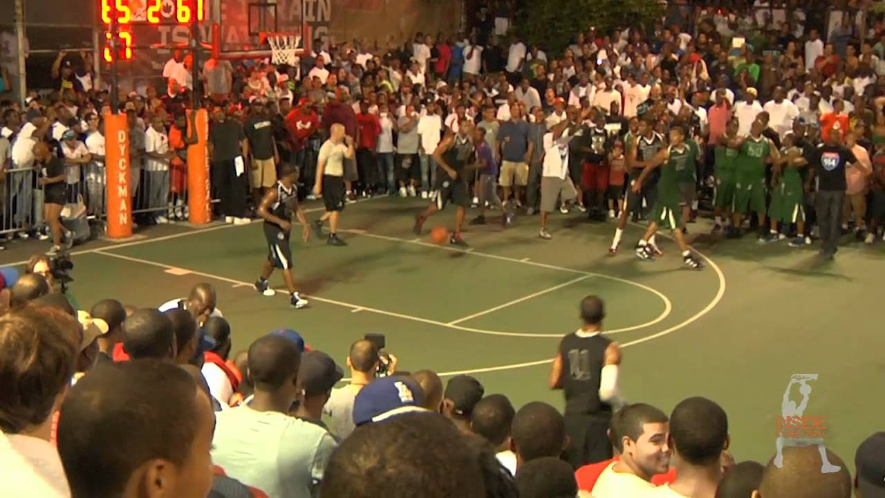 a638c88b76ee Big Bully Dunks On Kevin Durant   Dyckman - YouTube