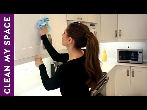 How to Clean Kitchen Cabinets! (Clean My Space Q&A)