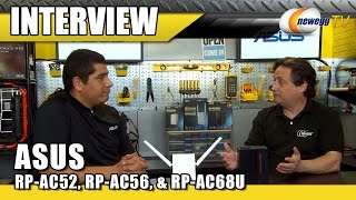 aSUS Range Extenders & Media Bridge Interview - Newegg TV