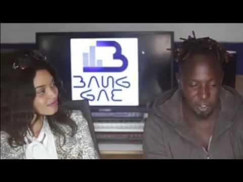 Young Black in studio with Sasa Klaas