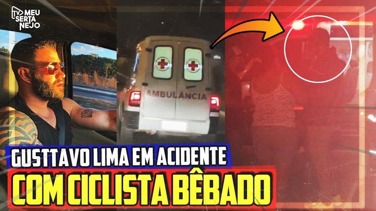 URGENTE: GUSTTAVO LIMA SE ENVOLVE EM ACIDENTE com CICLISTA!