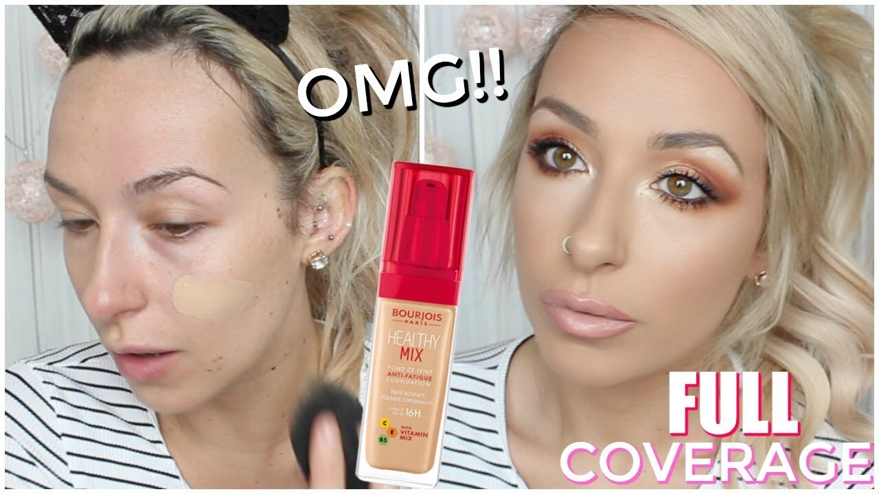 New And Updated Bourjois Healthy Mix Foundation First Impression
