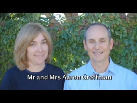 The Art of Giving - Mr. and Mrs. Aaron and Randy Groffman