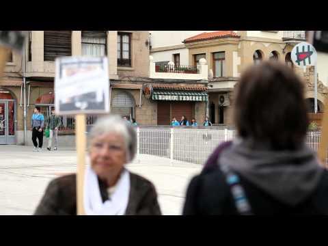 Euskal preso eta iheslarien aldeko ekimena Algortan