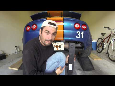 How to Lift a Lotus Elise or Exige