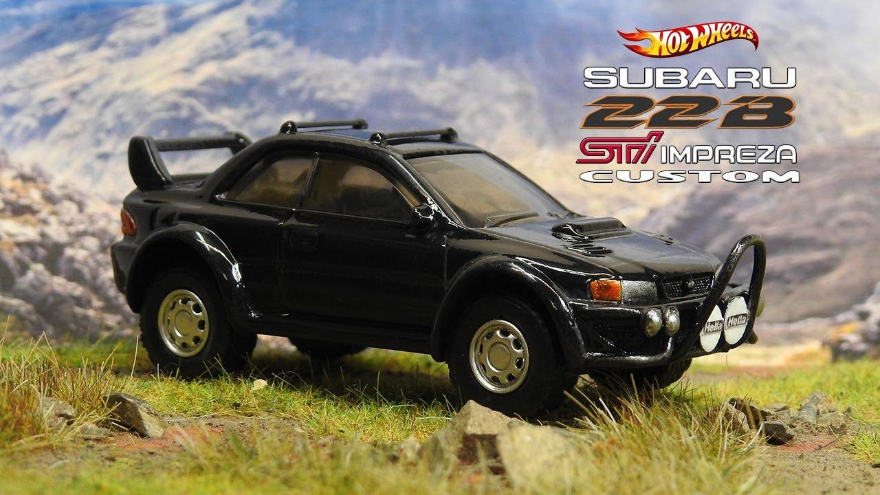 Lifted Subaru Impreza 22B STi Hot Wheels Custom