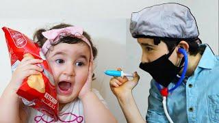 Celina and Hasouna Chocolate and doctor - سيلينا وحسونة الدكتور وشكولاطة