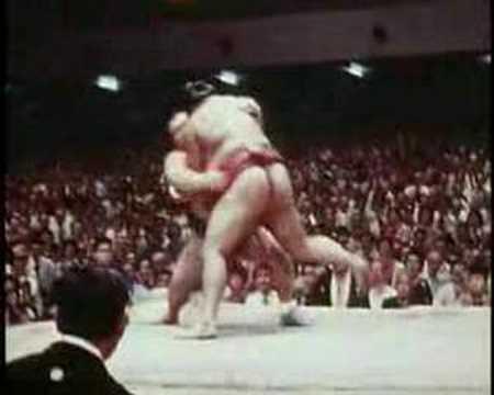 Takamiyama vs. Kitanoumi : Aki 1978