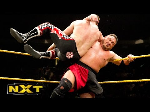 Sami Zayn vs. Samoa Joe - NXT Championship No. 1 Contender's Match: WWE NXT, February 17, 2016