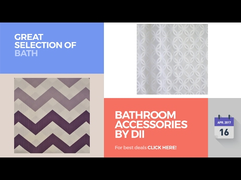 Bathroom Accessories By Dii Great Selection Of Bath Products