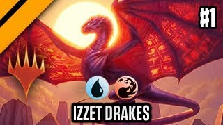 MTG Arena - Constructed Bo3 - Izzet Drakes P1