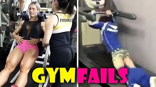 Workout Fails in Gym #2 💪 STUPID PEOPLE IN GYM FAILS 😁 Sport Fails Compilation