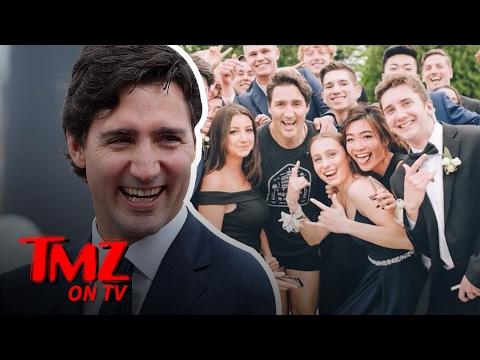 Justin Trudeau Runs In Some Very Short Shorts! | TMZ TV