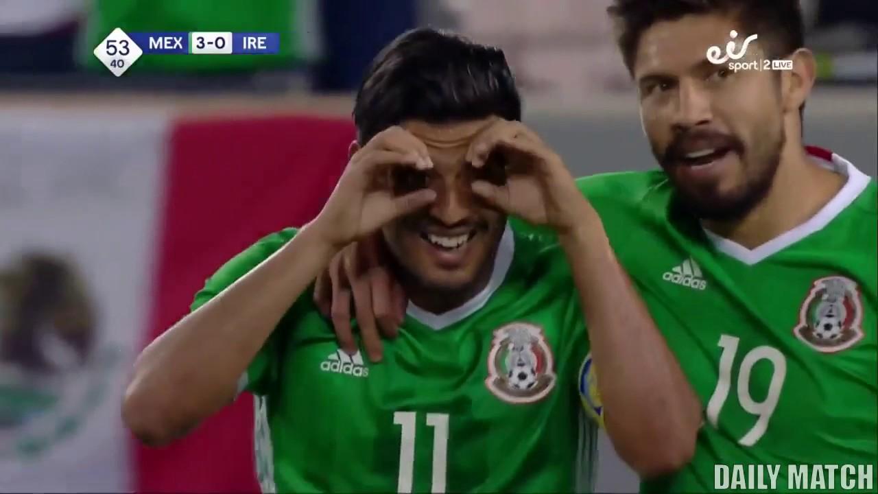 Мексика - Ирландия 3:1 видео