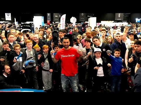 Wrap Attack Live at London Motor Show 2017 - Day 2