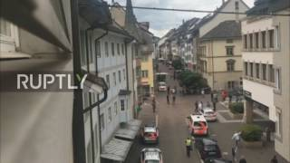 Switzerland: 5 injured in Schaffhausen chainsaw attack, police lockdown old town