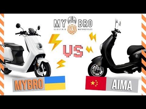MYBRO N-PLUS против AIMA MINE PLUS / Битва за место под солнцем