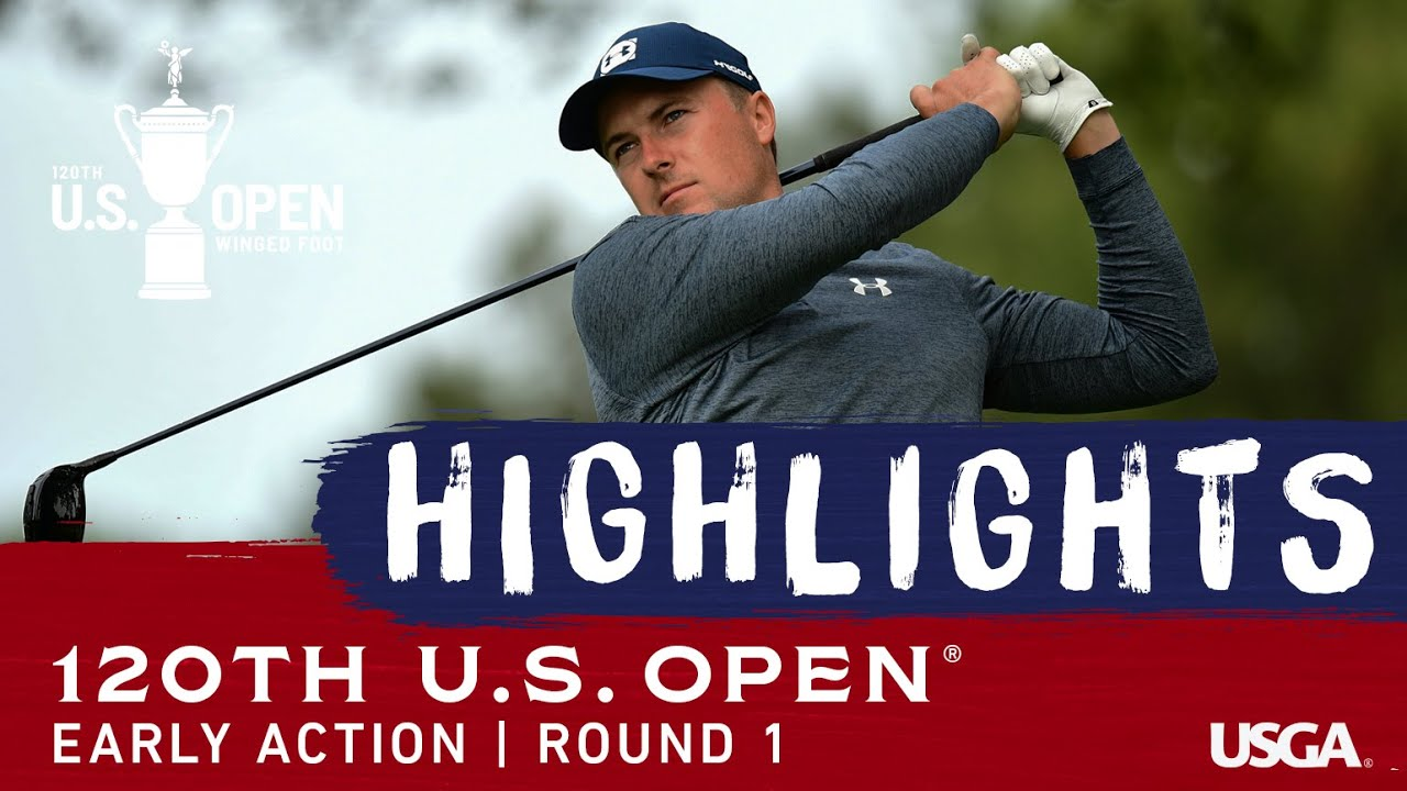 2020 U.S. Open Highlights, Round 1: Early Fireworks at Winged Foot