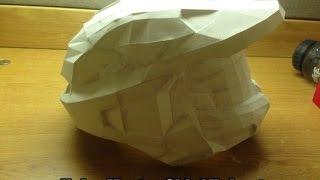 Making REAL LIFE paintball Halo helmet Part 1|Создание шлема Halo для пейнтбола СВОИМИ РУКАМИ(Развёртка(Pepakura): http://pepakura.ru/razvertki/shlemy/shlem-iz-halo.html Музыка(Music): TheFatRat - Xenogenesis ..., 2015-09-24T02:23:20.000Z)