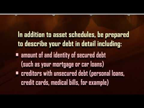 What Paperwork do I Have to File for Chapter 7 Bankruptcy?