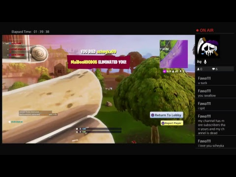 FORTNITE 4 MAN- interactive livestream - Road to 50 subscribers