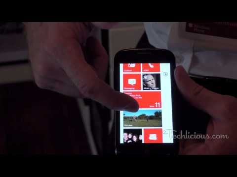 Samsung Focus with Windows Phone 7 Preview