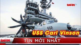 ⚡ NÓNG | Cận cảnh dàn tiêm kích trên tàu sân bay của Mỹ