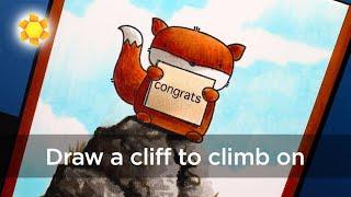 Magical Monday: Cliff Climbing! (Three Amigos)