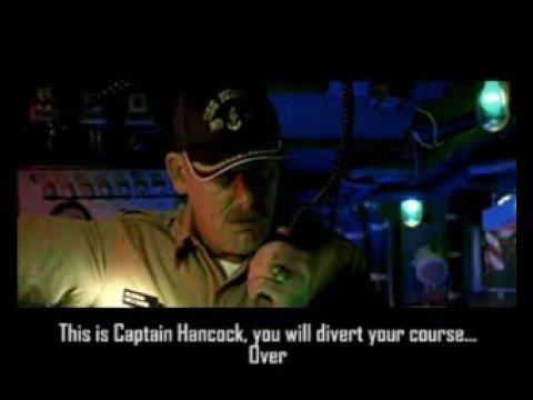 """USS Montana"" vs Lighthouse.... FUNNY"