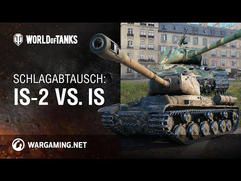 Schlagabtausch: IS-2 vs. IS [World of Tanks Deutsch]