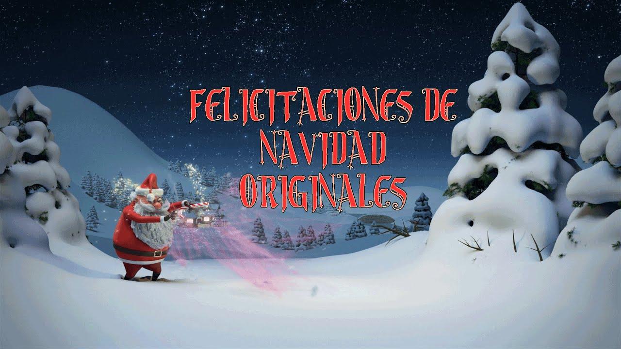 felicitaciones de navidad originales youtube - Postales De Navidad Originales