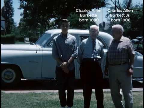 Burket / Burkett / Burkette Home Movies c. 1962 Stockton, California