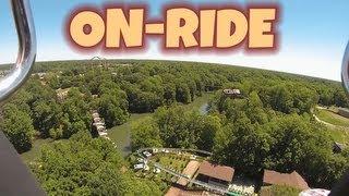 Mach Tower On-ride (hd Pov) Busch Gardens Williamsburg